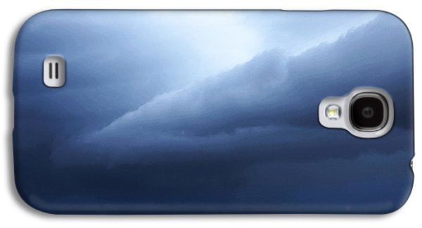 Storm Prints Photographs Galaxy S4 Cases - Storm Over Siesta Key - Beach Art By Sharon Cummings Galaxy S4 Case by Sharon Cummings