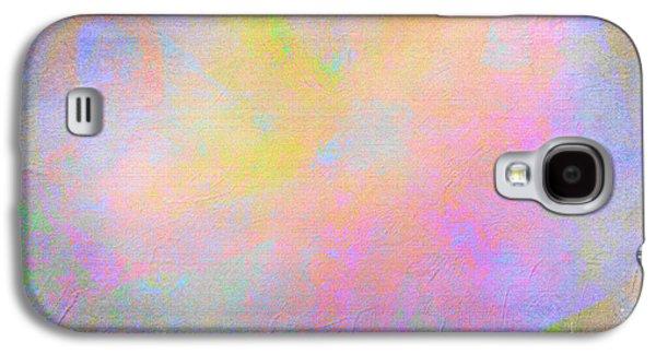 Storm Prints Mixed Media Galaxy S4 Cases - Storms Over- mixed media abstract Galaxy S4 Case by Patricia Griffin Brett