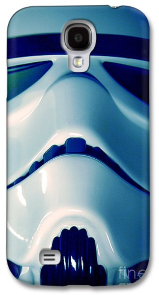 Science Fiction Photographs Galaxy S4 Cases - Stormtrooper Helmet 108 Galaxy S4 Case by Micah May