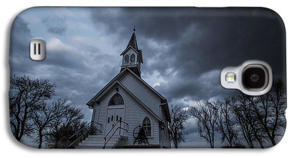 Slash Galaxy S4 Cases - Stormy Church Galaxy S4 Case by Aaron J Groen