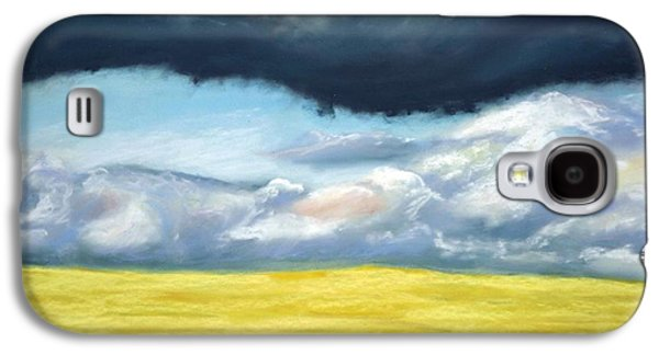 Storm Pastels Galaxy S4 Cases - Stormy Galaxy S4 Case by Irini  Adler