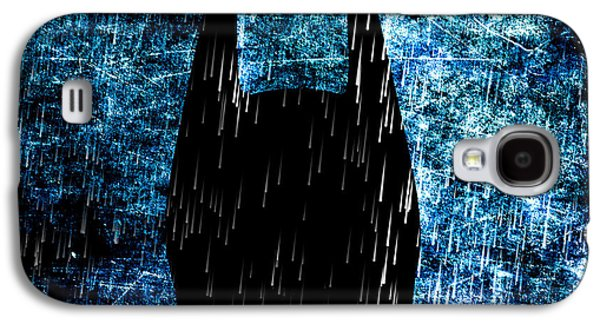 Industrial Digital Art Galaxy S4 Cases - Stormy Knight Dark Knight Galaxy S4 Case by Bob Orsillo