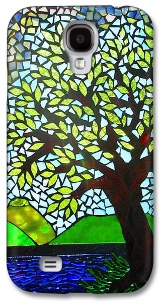 Storm Glass Galaxy S4 Cases - Stormy Galaxy S4 Case by Lisa Anderson