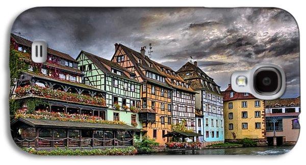 Stormy Skies In Strasbourg Galaxy S4 Case by Carol Japp