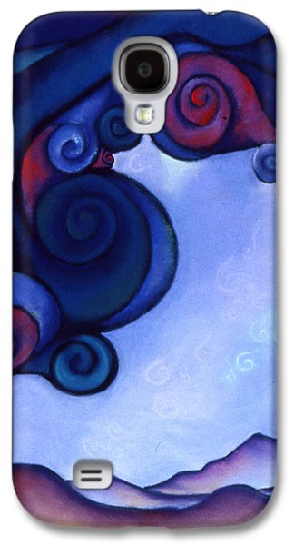 Storm Pastels Galaxy S4 Cases - Stormy Galaxy S4 Case by Susan Will