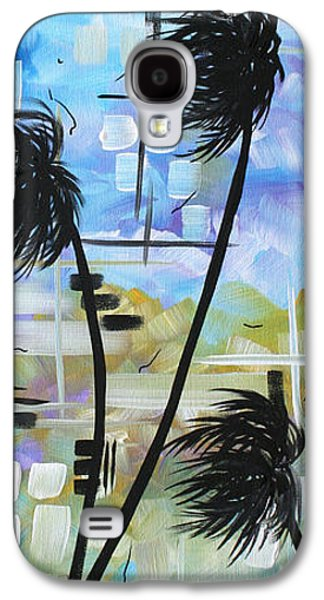 Abstract Landscape Galaxy S4 Cases - Stormy Tropics by MADART Galaxy S4 Case by Megan Duncanson