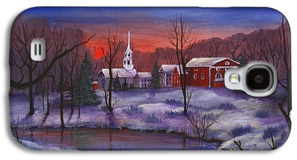Holiday Galaxy S4 Cases - Stowe - Vermont Galaxy S4 Case by Anastasiya Malakhova
