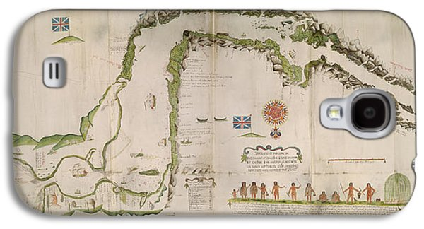 Straits Of Magellan Galaxy S4 Case by British Library