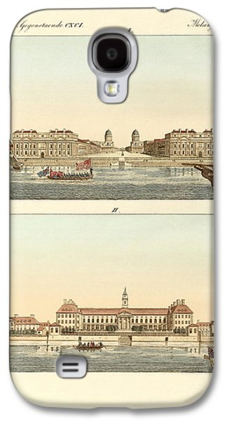 Strange Buildings In England Galaxy S4 Case by Splendid Art Prints