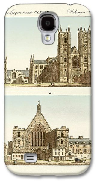 Strange Buildings In London Galaxy S4 Case by Splendid Art Prints