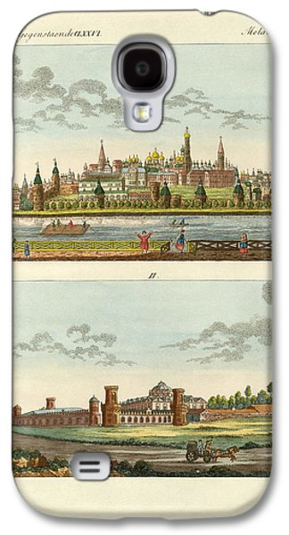 Strange Buildings In Russia Galaxy S4 Case by Splendid Art Prints
