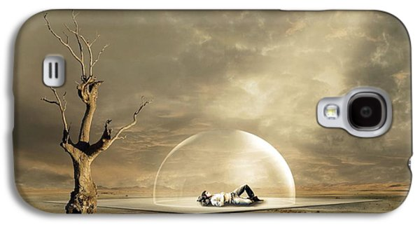 Hovering Galaxy S4 Cases - strange Dreams Galaxy S4 Case by Franziskus Pfleghart