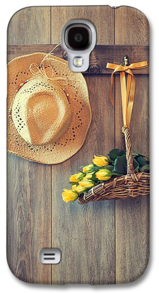 Shed Galaxy S4 Cases - Straw Hat Galaxy S4 Case by Amanda And Christopher Elwell