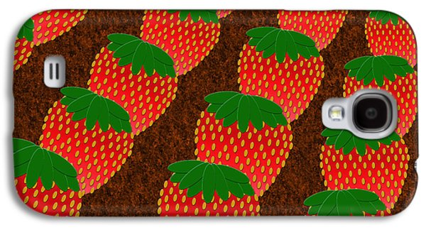Beatles Galaxy S4 Cases - Strawberry Fields Forever Galaxy S4 Case by Andee Design