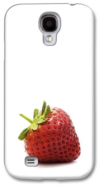 Kitchen Photos Galaxy S4 Cases - Strawberry Galaxy S4 Case by Natalie Kinnear