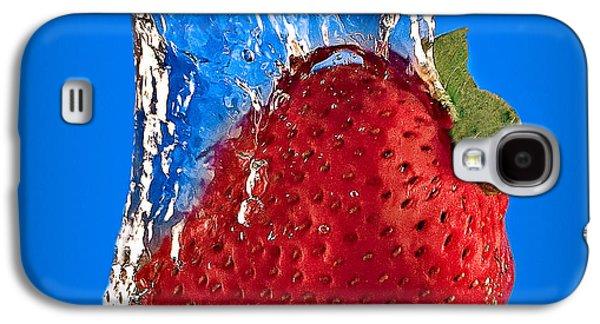 Slam Galaxy S4 Cases - Strawberry Slam Dunk Galaxy S4 Case by Susan Candelario
