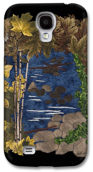 Autumn Landscape Tapestries - Textiles Galaxy S4 Cases - Stream of Tranquility Galaxy S4 Case by Anita Jacques