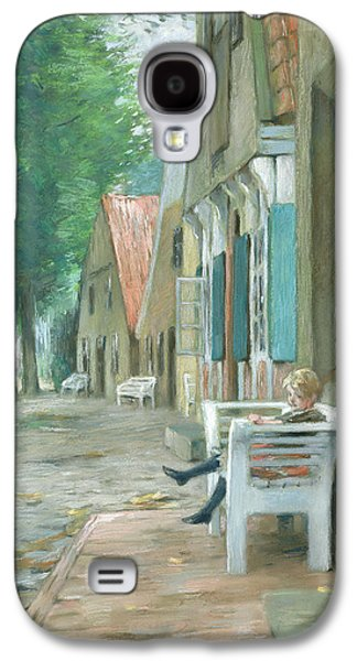 Hamburg Galaxy S4 Cases - Street In Altenbruch, 1893 Pastel On Paper Galaxy S4 Case by Thomas Ludwig Herbst