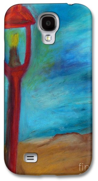 Landscape Acrylic Prints Pastels Galaxy S4 Cases - Street Light Galaxy S4 Case by Jon Kittleson