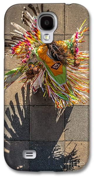 Candid Photographs Galaxy S4 Cases - Street Shadow Dancer Galaxy S4 Case by Ian Monk