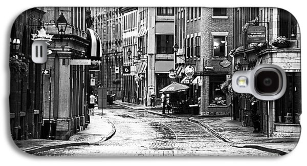 Old Montreal Galaxy S4 Cases - Streets of Montreal Galaxy S4 Case by John Rizzuto