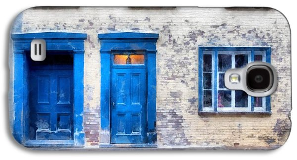 Studio Photographs Galaxy S4 Cases - Streets of Old Quebec 2 Galaxy S4 Case by Edward Fielding
