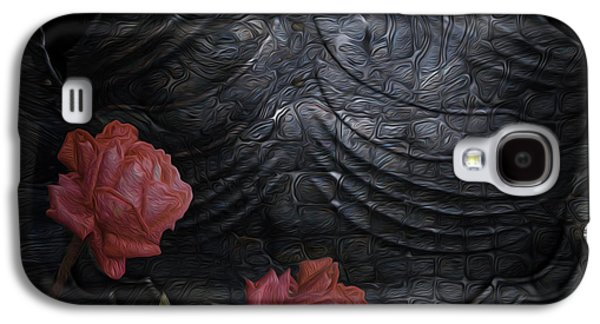 Installation Art Galaxy S4 Cases - Strength Of A Rose Galaxy S4 Case by Jack Zulli