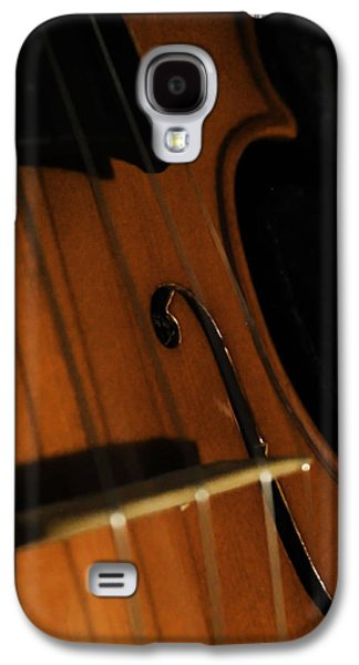 Music Pyrography Galaxy S4 Cases - String part 2 Galaxy S4 Case by Amber Wilson