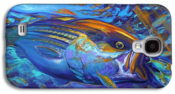 Fly Galaxy S4 Cases - Striper Blitz Galaxy S4 Case by Mike Savlen