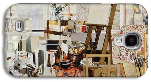 Jeremy Galaxy S4 Cases - Studio, 1986 Oil On Canvas Galaxy S4 Case by Jeremy Annett
