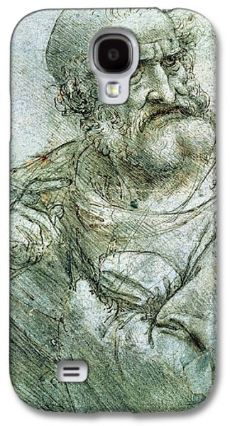Study For An Apostle From The Last Supper Galaxy S4 Case by Leonardo da Vinci