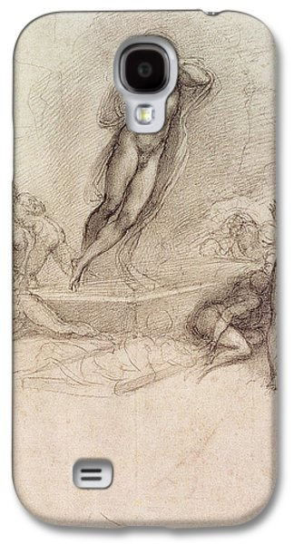 Study For An Ascension Galaxy S4 Case by Michelangelo Buonarroti