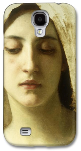 Study For La Charite Galaxy S4 Case by William-Adolphe Bouguereau