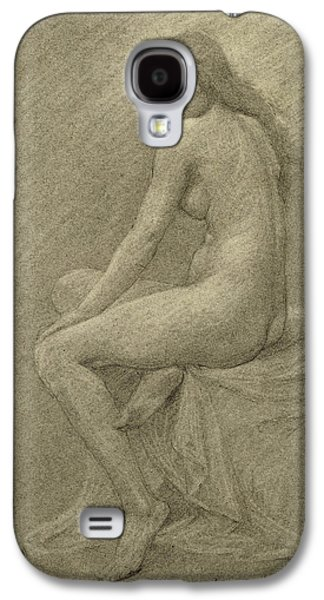 Nudes Drawings Galaxy S4 Cases - Study for Lilith Galaxy S4 Case by Robert Fowler
