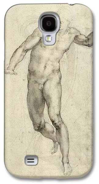 Study For The Last Judgement  Galaxy S4 Case by Michelangelo  Buonarroti