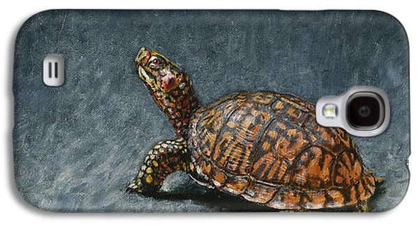 Box Galaxy S4 Cases - Study of an Eastern Box Turtle Galaxy S4 Case by Rob Dreyer AFC