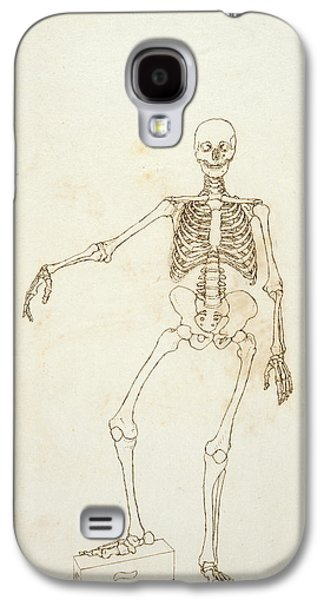 Drawing Galaxy S4 Cases - Study Of The Human Figure, Anterior View, From A Comparative Anatomical Exposition Of The Structure Galaxy S4 Case by George Stubbs