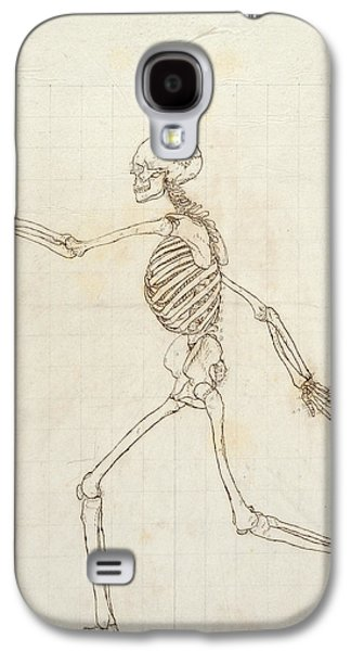 Drawing Galaxy S4 Cases - Study Of The Human Figure, Lateral View, From A Comparative Anatomical Exposition Of The Structure Galaxy S4 Case by George Stubbs