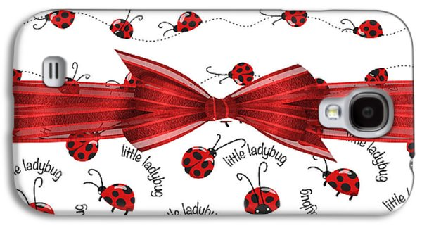 Stylish Ladybugs Galaxy S4 Case by Debra  Miller