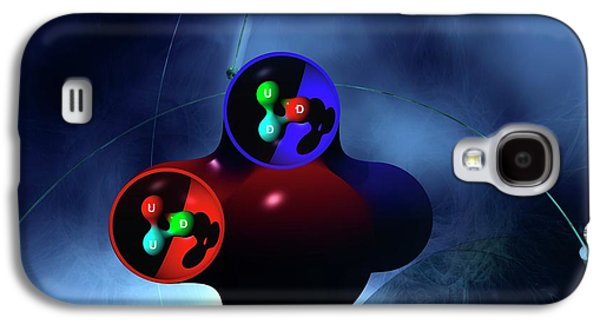 Subatomic Particles Galaxy S4 Case by Carol & Mike Werner