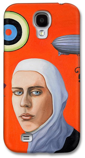 Subconscious Paintings Galaxy S4 Cases - Subconscious Galaxy S4 Case by Leah Saulnier The Painting Maniac