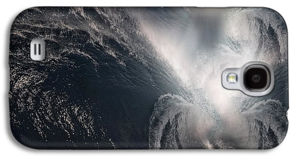 Man In The Moon Galaxy S4 Cases - Subconscious Galaxy S4 Case by Lourry Legarde
