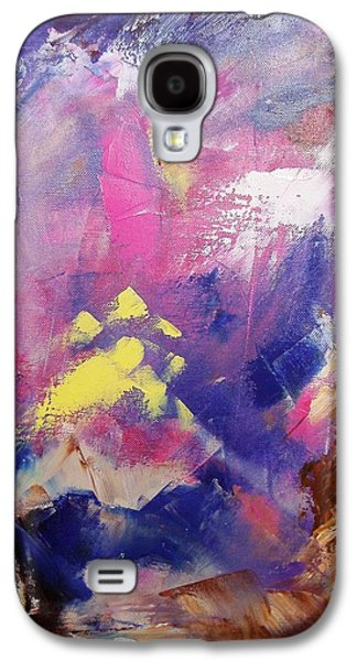 Subconscious Paintings Galaxy S4 Cases - Subconsciously Galaxy S4 Case by Nina Mitkova