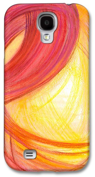 Thought Drawings Galaxy S4 Cases - Sublime Design-V2 Galaxy S4 Case by Kelly K H B