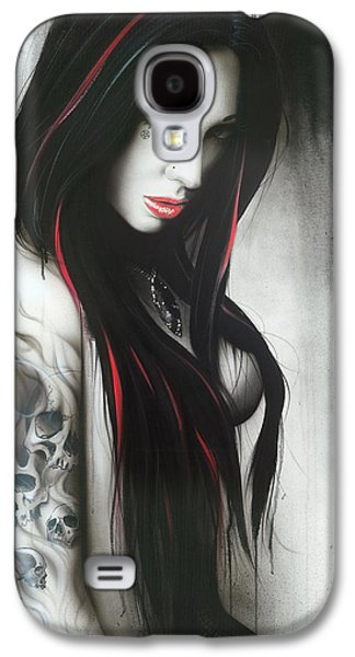 Gothic Paintings Galaxy S4 Cases - Subliminal II Galaxy S4 Case by Christian Chapman Art