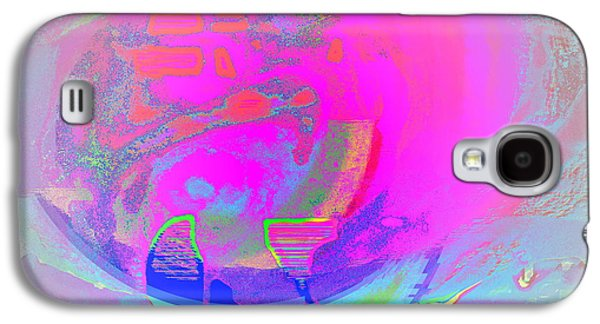 Psychiatric Paintings Galaxy S4 Cases - Submarine Galaxy S4 Case by Hilde Widerberg