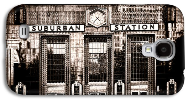 Phillies Galaxy S4 Cases - Suburban Station Galaxy S4 Case by Olivier Le Queinec