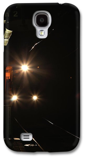 Florescent Lighting Galaxy S4 Cases - Subway and Surface Trolley Galaxy S4 Case by Berry Edwards