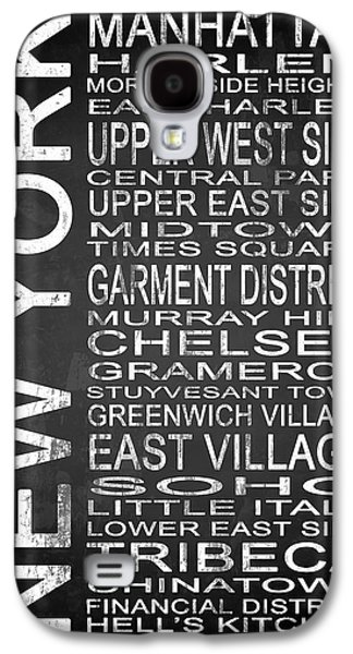 East Village Galaxy S4 Cases - Subway New York 2 Galaxy S4 Case by Melissa Smith