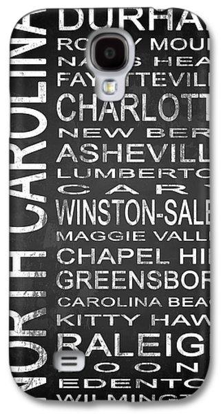 Charlotte Mixed Media Galaxy S4 Cases - SUBWAY North Carolina State 1 Galaxy S4 Case by Melissa Smith